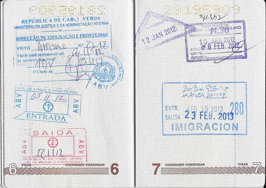 disse land trenger du visum til