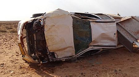 Bilulykke i Namibia