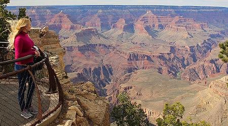 Første møte med Grand Canyon