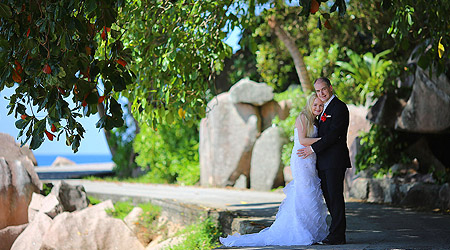 Bryllup på Seychellene
