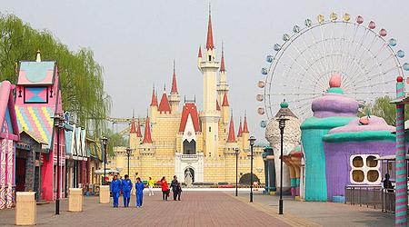 Det falske Disneyland i Beijing