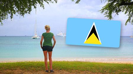 St. Lucia - naturperle og luksusparadis